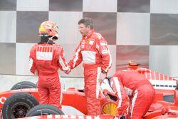 Michael Schumacher, Ferrari with Ross Brawn, Ferrari