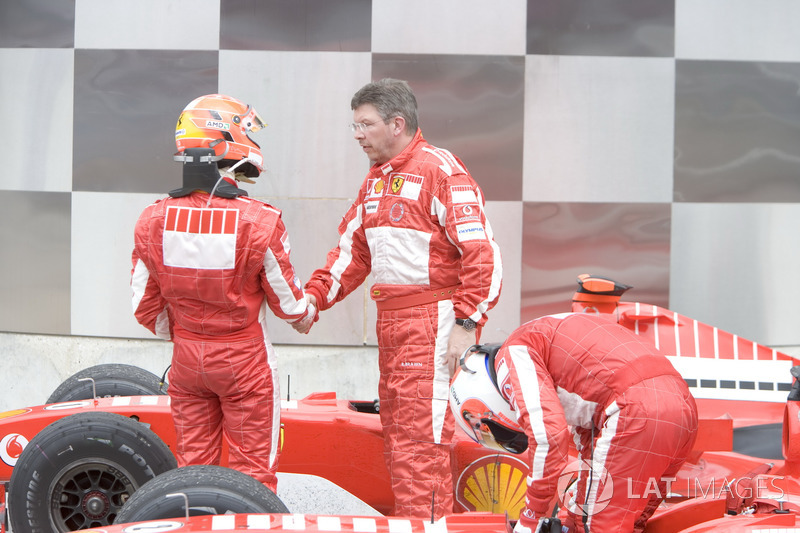 Michael Schumacher, Ferrari ve Ross Brawn, Ferrari