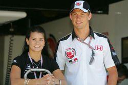 Jenson Button, Honda avec Danica Patrick