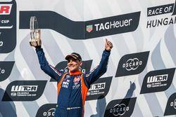 Podium: derde plaats Norbert Michelisz, BRC Racing Team Hyundai i30 N TCR