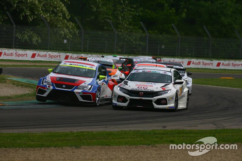 Alessandro Thellung, Seat Leon Racer-TCR DSG e Massimiliano Mugelli, Honda Civic TCR
