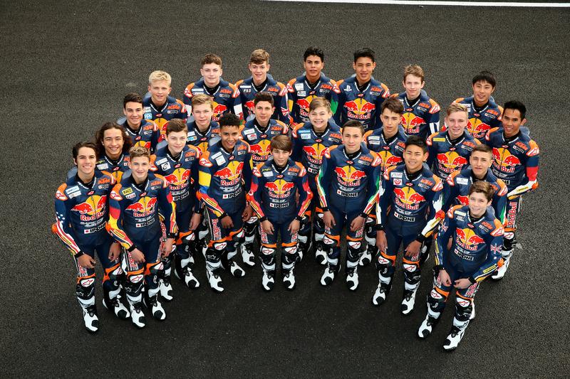Para pembalap Red Bull Rookies Cup 2018