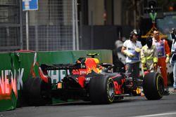 L'accident de Max Verstappen, Red Bull Racing RB14