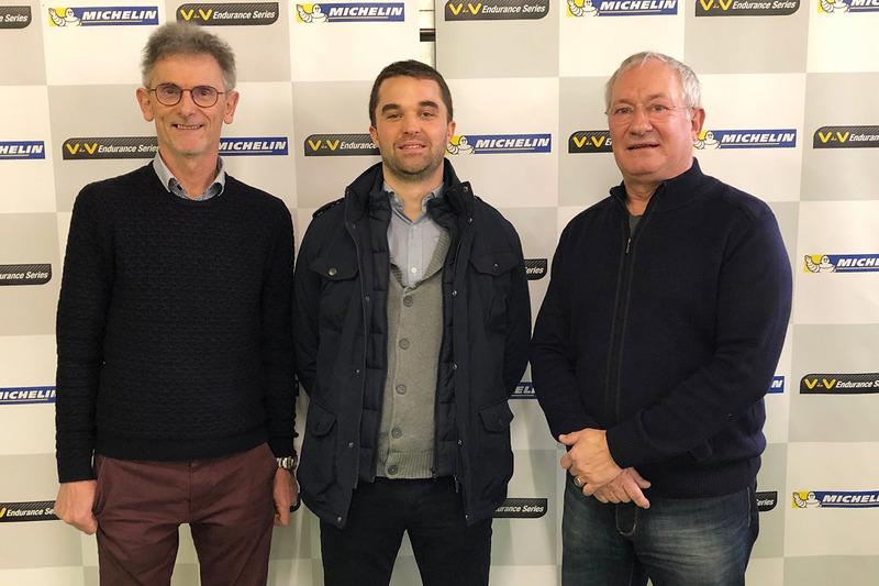 Yves Orhant, fondateur de Funyo, Romain Angebeau, président de Funyo, Eric Van de Vyver, créateur du championnat VdeV