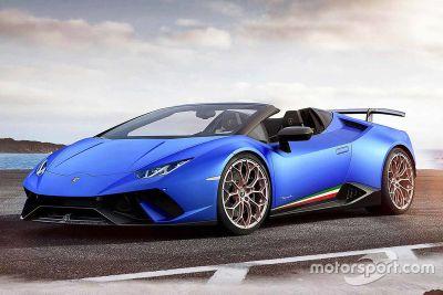 Lamborghini Huracan Performante Spyder lansmanı