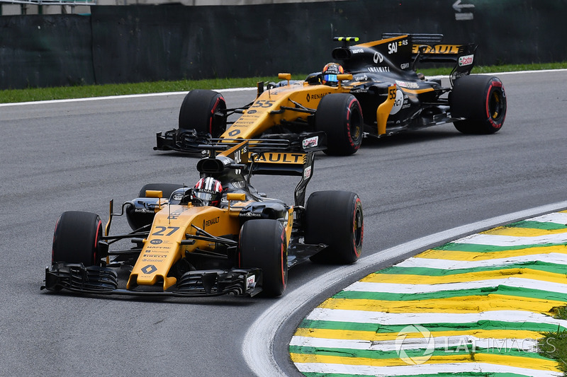 Ніко Хюлькенберг, Карлос Сайнс-мол., Renault Sport F1 Team RS17