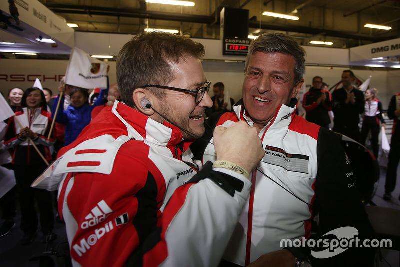 Fritz Enzinger, patron de Porsche Team, Andreas Seidl, Porsche Team