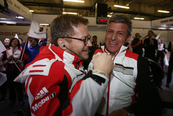 Fritz Enzinger, başkan, Porsche Team, Andreas Seidl, Porsche Takım lideri