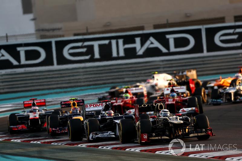 …а Райкконен, сразу опередив соперников из Williams и Red Bull, поднялся на второе место