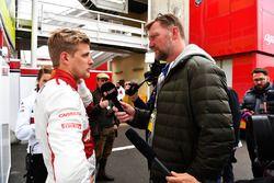 Marcus Ericsson, Alfa Romeo Sauber F1 Team in gesprek met de media