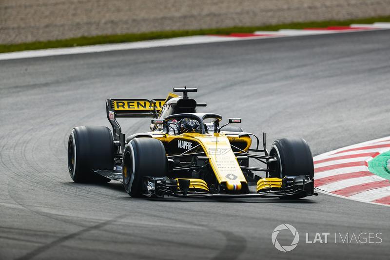 Nico Hulkenberg, Renault Sport F1 Team Team RS. 18