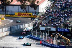 Nick Heidfeld, Mahindra Racing, Jérôme d'Ambrosio, Dragon Racing, Nicolas Prost, Renault e.Dams & Lu