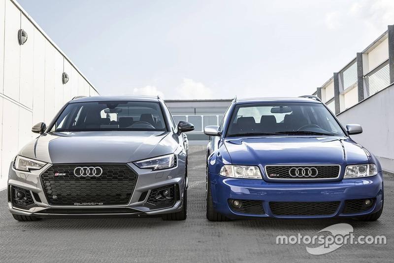 2001 Audi Rs Avant And 2018 Audi Rs4 Avant At Motor1 Com