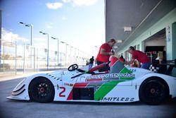 #2 FP1 Radical RPV8, Jesse Grose, Gary Wiesel, JC Motorsports