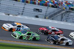 Daniel Suarez, Joe Gibbs Racing, Interstate Batteries Toyota Camry Spencer Gallagher, GMS Racing, Al