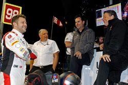Marco Andretti, Herta - Andretti Autosport Honda, Art St. Cyr, Bryan Herta en Michael Andretti