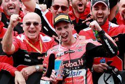 Race winner Marco Melandri, Aruba.it Racing-Ducati SBK Team