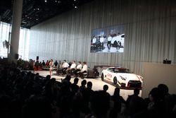 「2018年モータースポーツ活動計画」発表会
