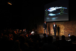 Paddy Lowe, onstage with the FW41