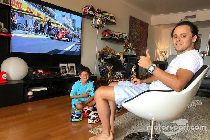 Já no último ano da sua carreira, em 2017, Massa acabou passando mal e teve que se ausentar da prova.