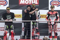 Jonathan Rea, Kawasaki Racing, Sieger Donington 2017