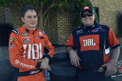 Christopher Bell, Kyle Busch Motorsports Toyota y Rudy Fugle