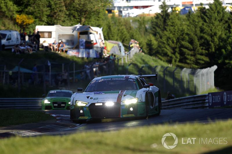 #28 Audi Sport Team Land-Motorsport, Audi R8 LMS