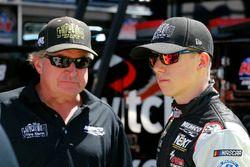 John Hunter Nemechek, SWM-NEMCO Motorsports Chevrolet and Joe Nemechek