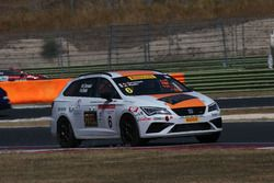 Alberto Rodio, Seat Motor Sport Italia, Seat Leon Cupra ST-TCS2.1