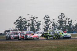 Martin Ponte, UR Racing Team Dodge, Guillermo Ortelli, JP Carrera Chevrolet, Christian Ledesma, Las Toscas Racing Chevrolet