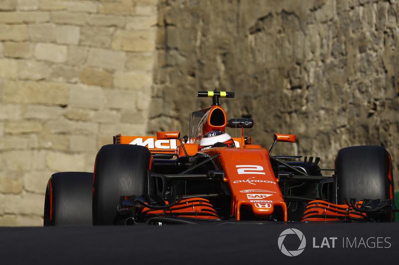 19. Stoffel Vandoorne, McLaren MCL32