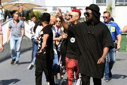 William James Adams aka Will.I.Am, Black Eyed Peas Musician, Jaime Luis Gomez aka Taboo, Black Eyed