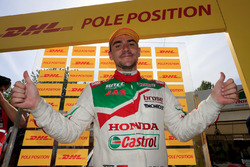 Ganador de la pole Norbert Michelisz, Honda Racing Team JAS, Honda Civic WTCC
