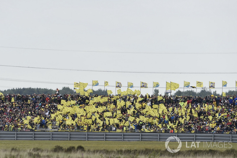Fans de Valentino Rossi