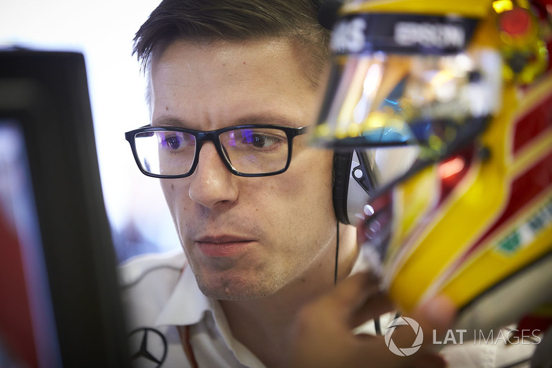 Andrew Shovlin, Şef Yarış Mühendisi, Mercedes AMG F1, Toto Wolff, Direktör, Mercedes AMG F1