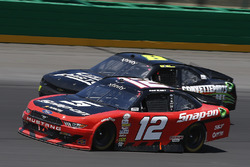 Ryan Blaney, Team Penske Ford, B.J. McLeod, BJ McLeod Motorsports Chevrolet