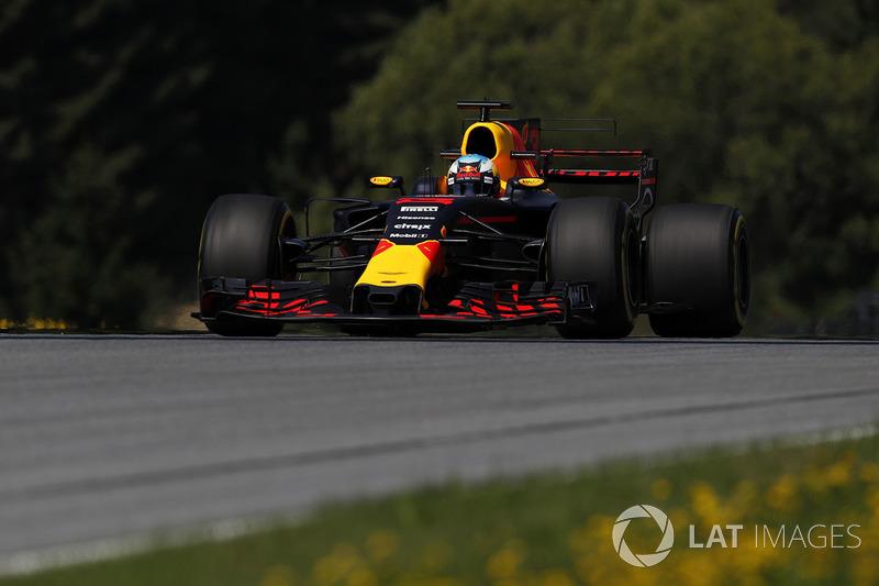5. Daniel Ricciardo, Red Bull Racing RB13