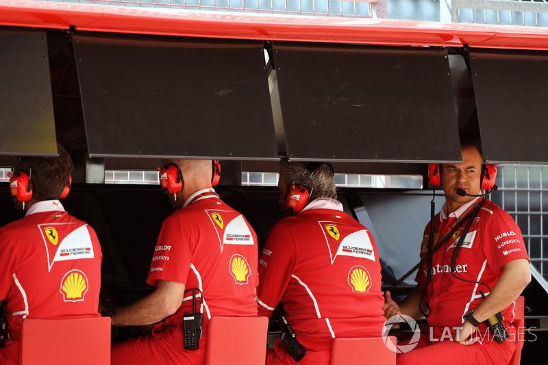 Піт-вол Ferrari