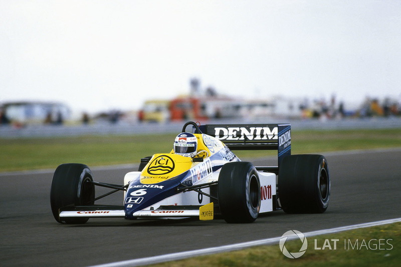 #12: Keke Rosberg, Williams FW10, Silverstone 1985: 1:05.591