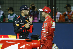 Себастьян Феттель Ferrari, Даніель Ріккардо Red Bull Racing