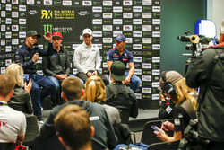 Conferenza stampa, Petter Solberg, PSRX Volkswagen Sweden, VW Polo GTi, Janis Baumanis, STARD, Ford