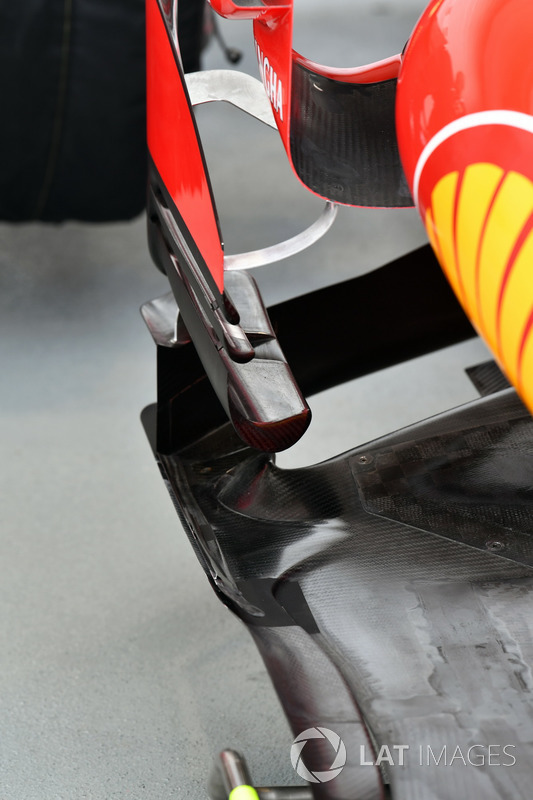 Ferrari SF70H, Windabweiser, Detail