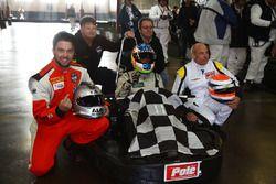 Yarış galibi, Xavier Coupal, Marc-Antoine Cardin, René Fagnan, Nissan Micra Cup Team