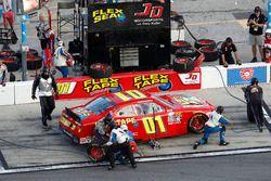 Pit stop, Harrison Rhodes, Chevrolet