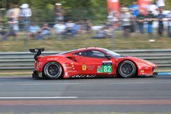 #82 Risi Competizione Ferrari 488 GTE : Toni Vilander, Giancarlo Fisichella, Pierre Kaffer