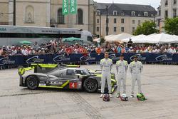№4 ByKolles Racing CLM P1/01: Оливер Уэбб, Доминик Крайхаймер, Марко Бонаноми