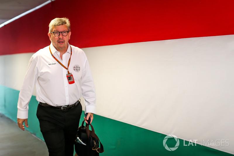 Ross Brawn, Motor Sports Formula One Managing Director