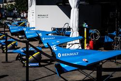 Renault e.Dams garajı