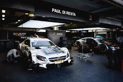 L'auto di Paul Di Resta, Mercedes-AMG Team HWA, Mercedes-AMG C63 DTM