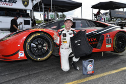 Polesitters GTD #48 Paul Miller Racing Lamborghini Huracan GT3: Madison Snow, Bryan Sellers